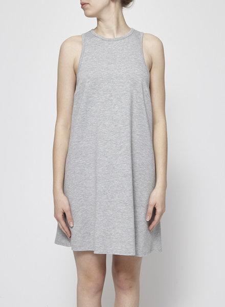 Press Dress GREY HALTERNECK DRESS