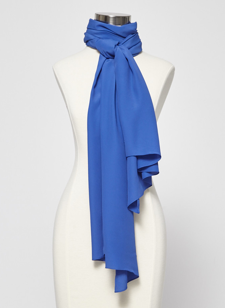 Marina Rinaldi Persona Foulard bleu sarcelle