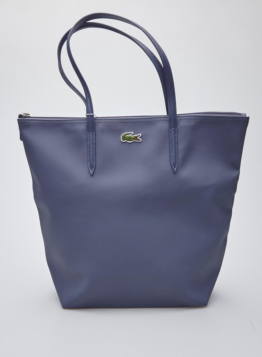 Lacoste Blue-Gray Handbag - New