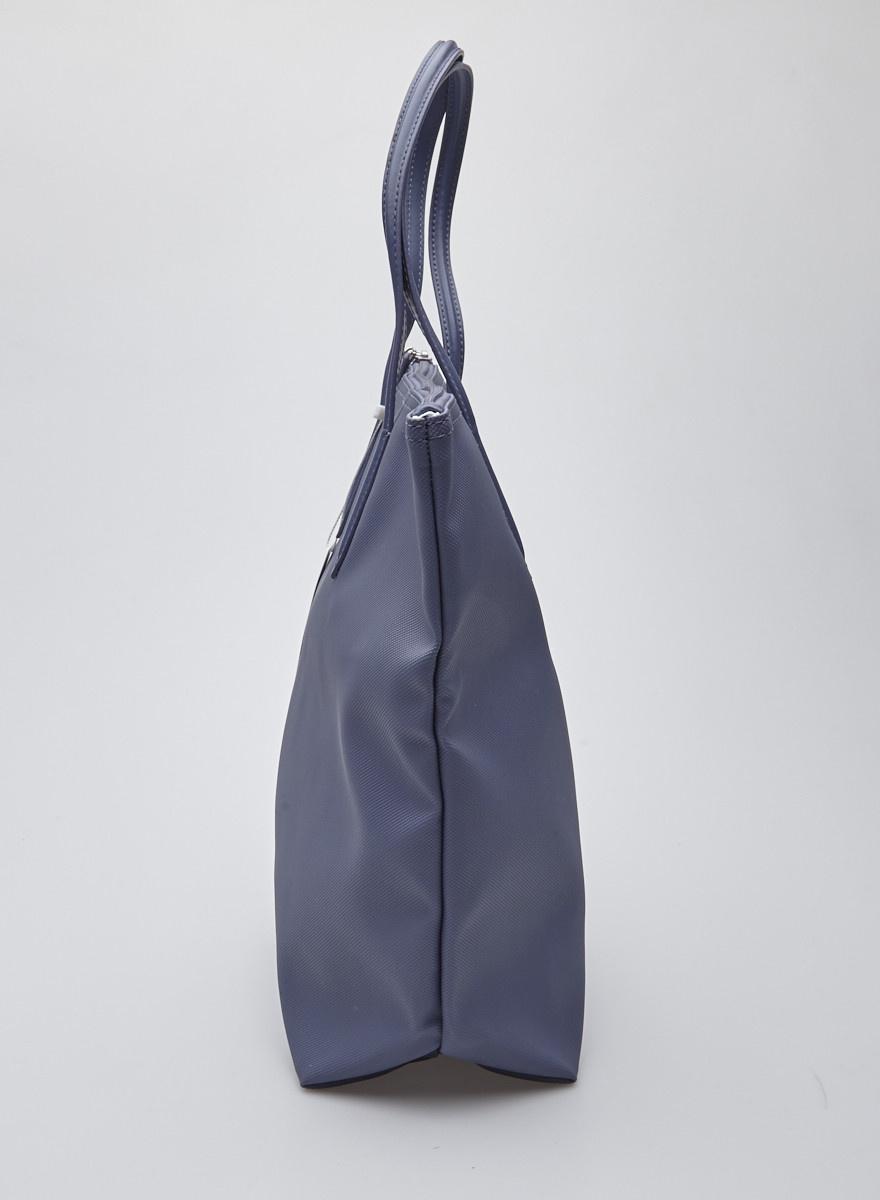 Lacoste Sac à main bleu-gris - Neuf