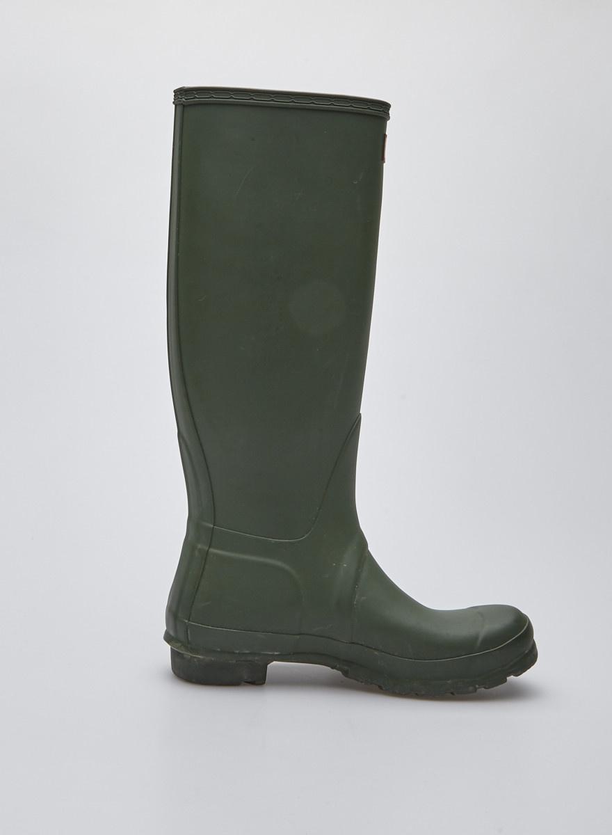 Hunter Bottes de pluie vertes