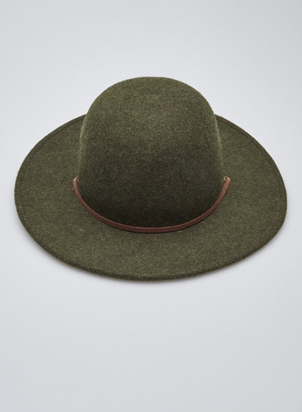Brixton GREEN WOOL HAT