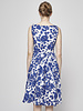 Weekend Max Mara Blue and White Floral Cotton Dress