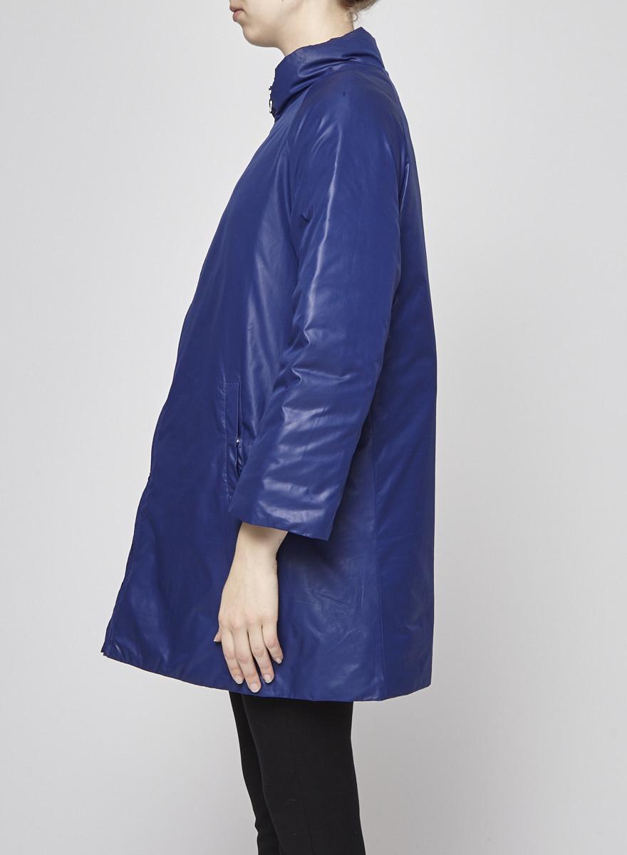 M Missoni Manteau bleu en duvet