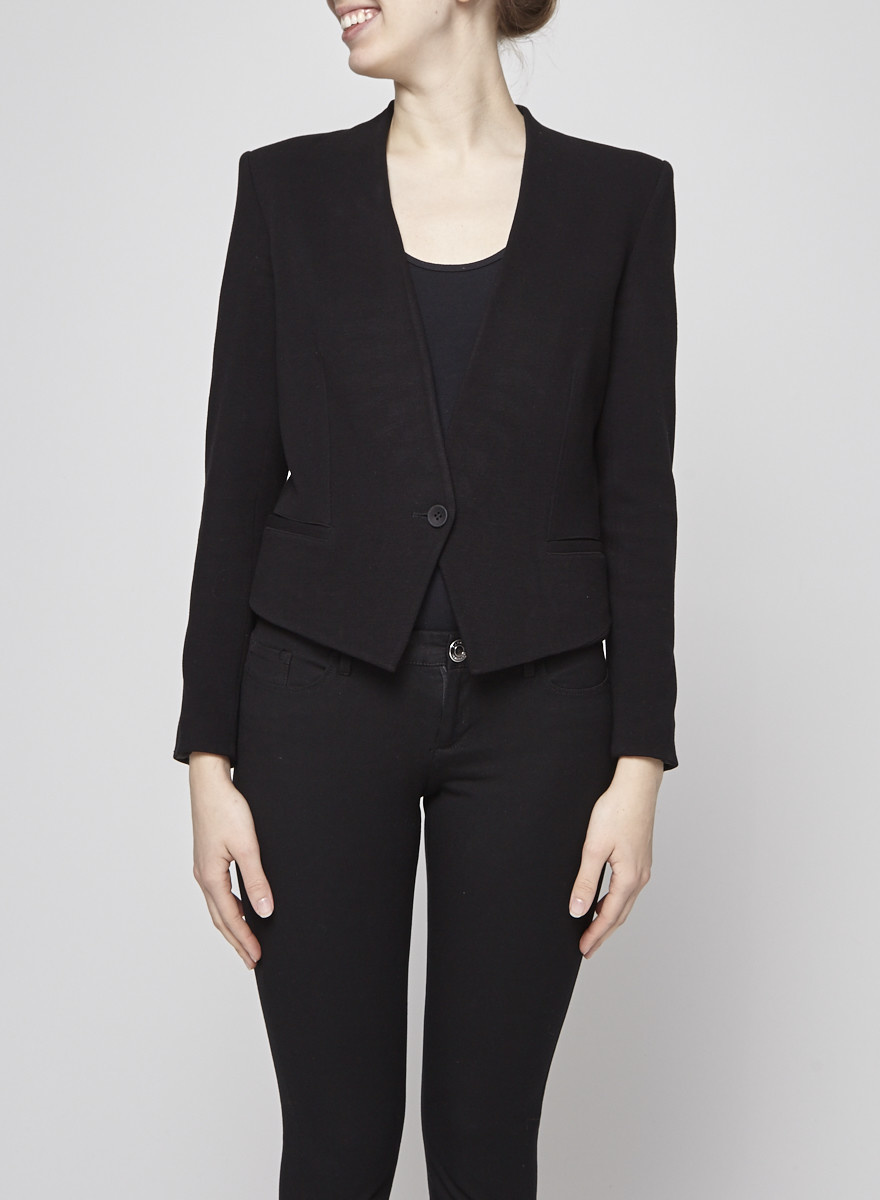 Helmut Lang Black Jacket with Buttons
