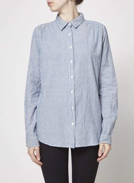 My Sunday Morning BLUE STRIPPED MILA SHIRT - NEW
