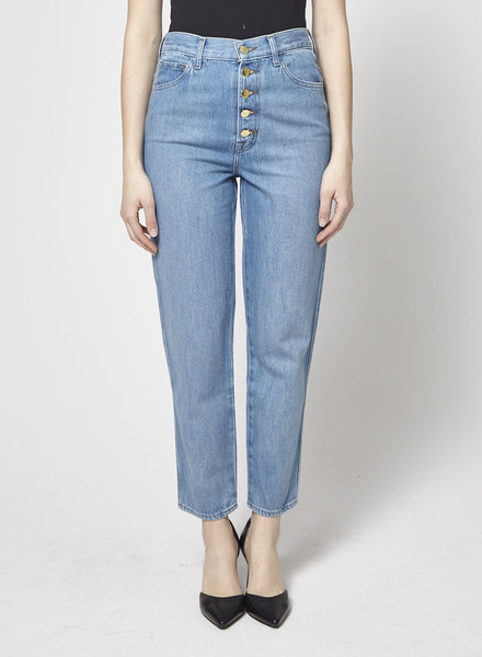 J Brand JEANS TAILLE HAUTE À BOUTONS - NEUF