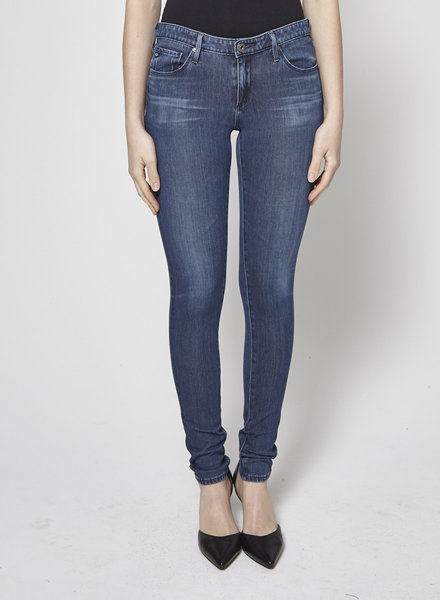 Adriano Goldschmied WASHED BLUE SKINNY JEANS
