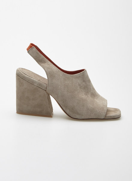 Tiger of Sweden TAUPE SUEDE SANDALS