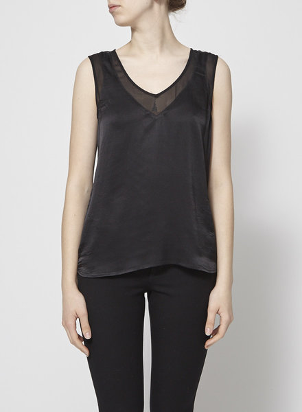 Banana Republic BLACK SILK TOP