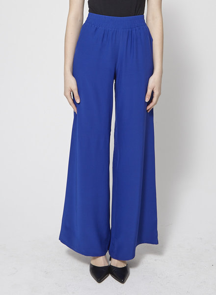 Amanda Uprichard ROYAL BLUE LOOSE PANTS