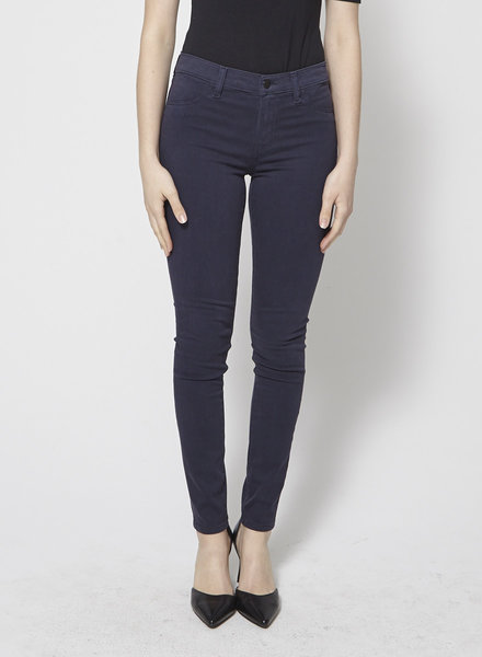 J Brand 485 MID-RISE SUPER SKINNY LUXE SATEEN PANT - NEW