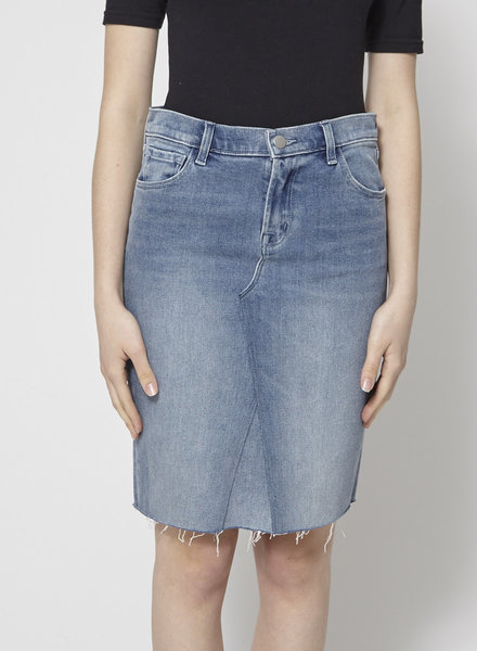 J Brand RAW HEM JEAN SKIRT - NEW