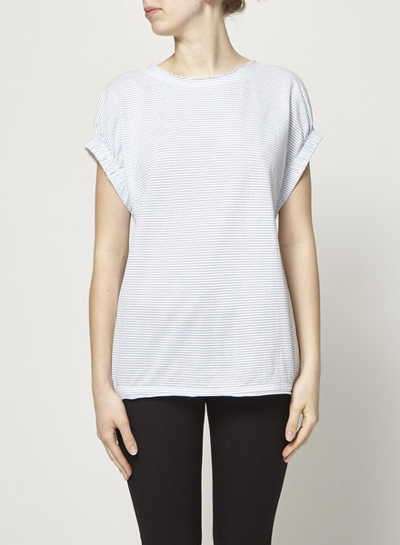 Marc by Marc Jacobs BLEU AND WHITE STRIPED SHIRT