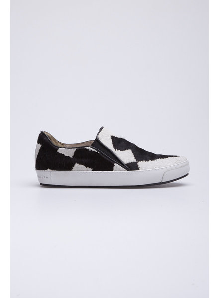 Derek Lam JARED GENUINE CALF HAIR SLIP-ON SNEAKER