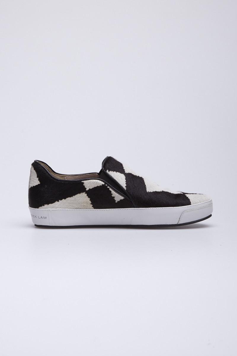 Derek Lam Jared Genuine Calf Hair Slip-On Sneaker