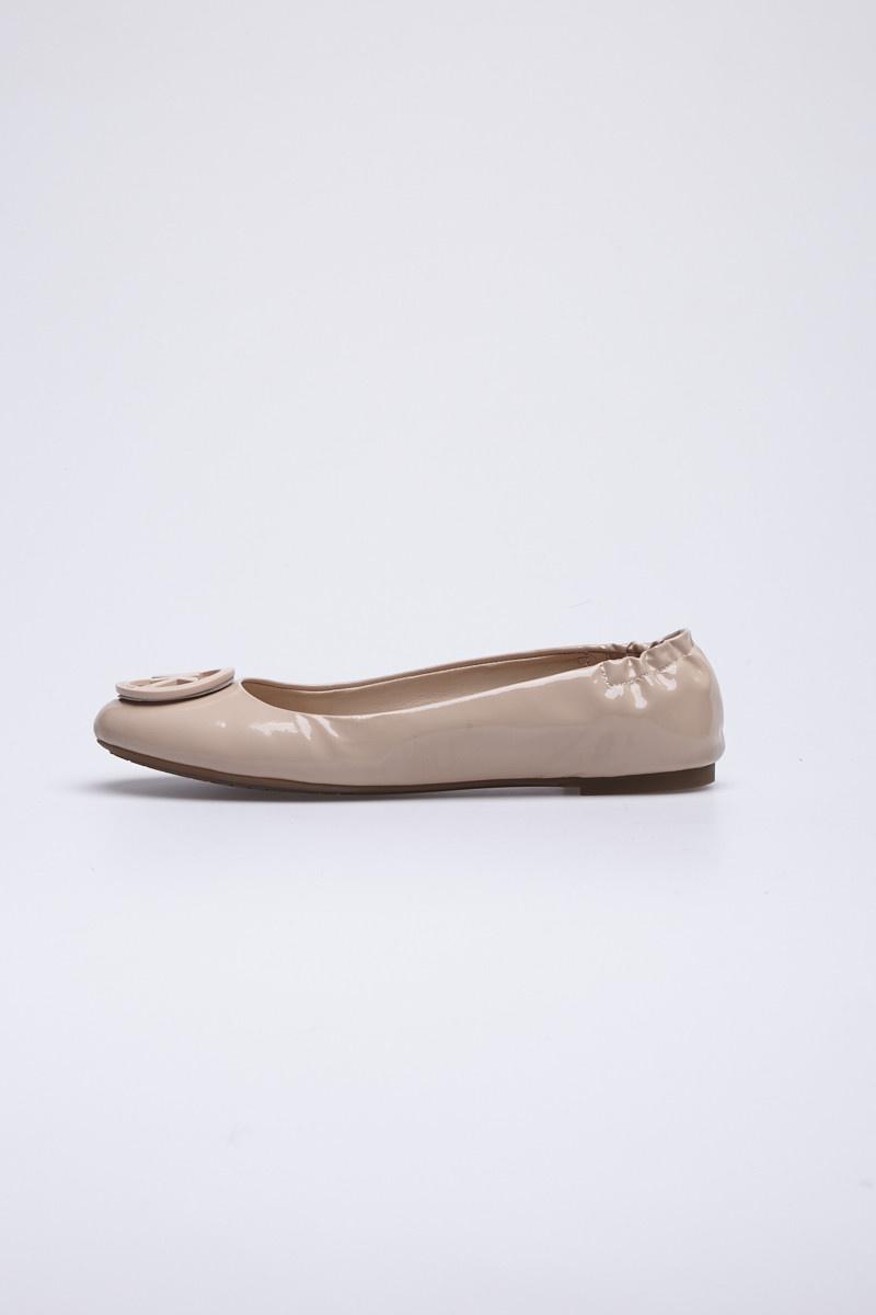 Michael Kors Ballerines vieux rose en cuir