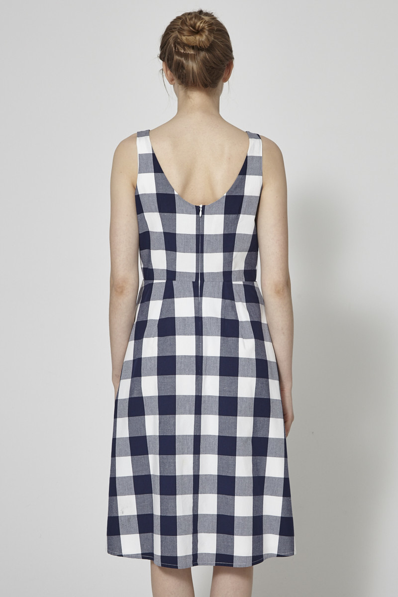 Betina Lou Gingham Midi Dress