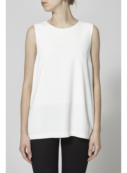 Theory WHITE SILKY TOP