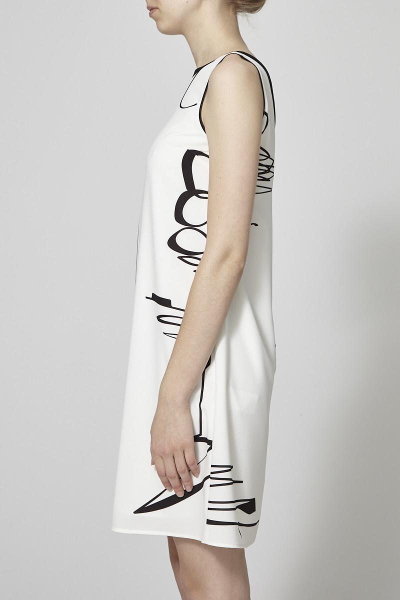 Marigold Lydia  Graphic Print  Dress - New