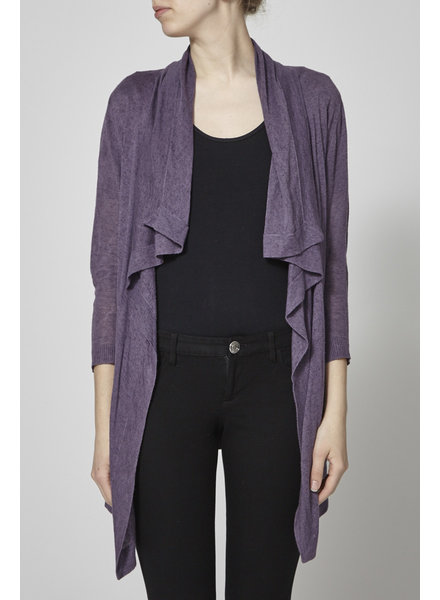 Theory PURPLE CARDIGAN