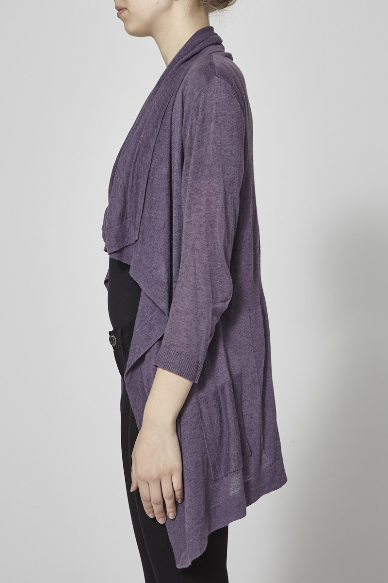Theory CARDIGAN MI-LONG VIOLET