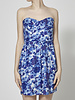 Shoshanna Floral Strapless Dress