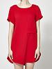 Marigold Paula Red T-Shirt Dress - New