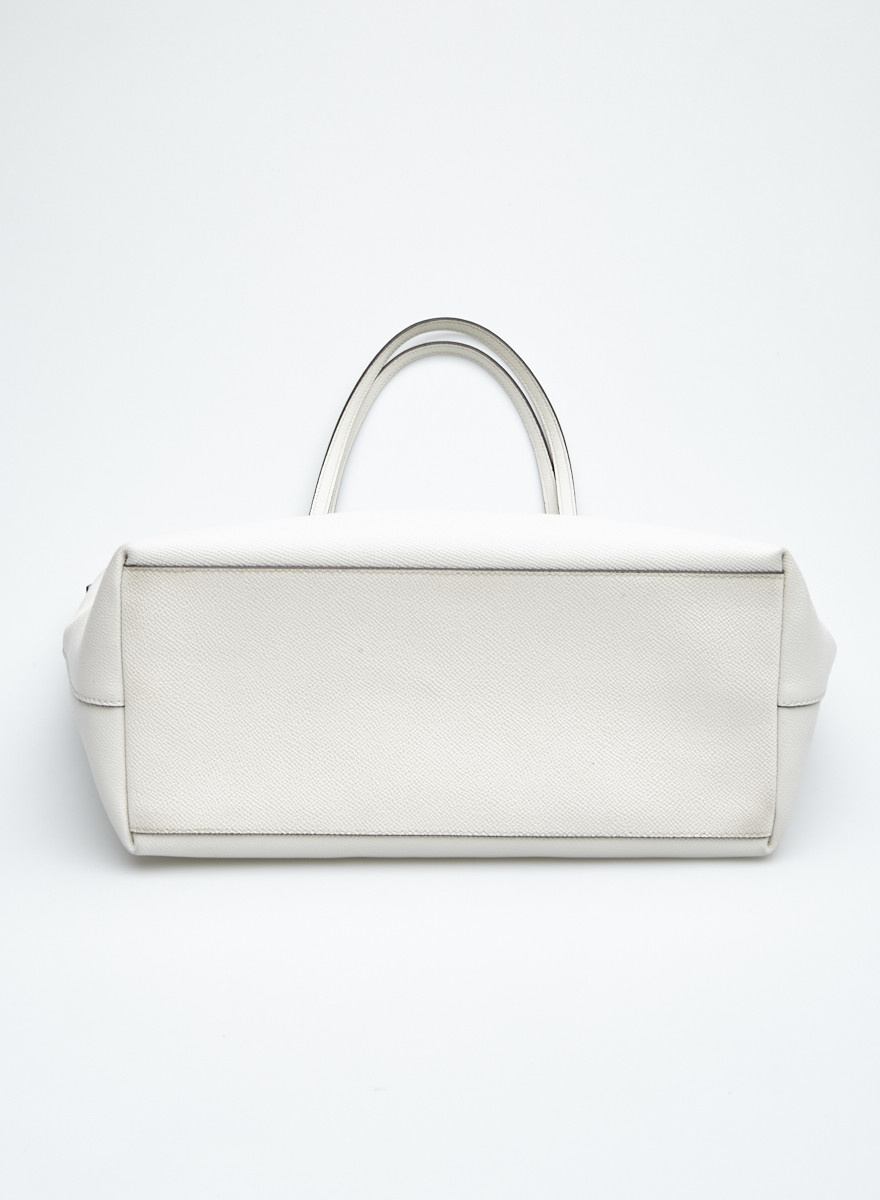 Coach Off White Leather Handbag