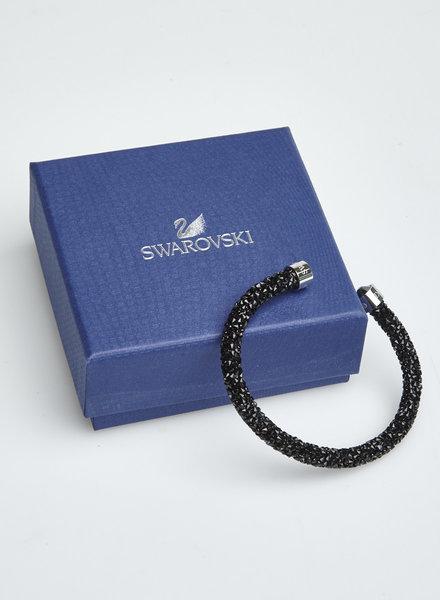 Swarovski BLACK SWAROVSKI CRYSTALS CUFF
