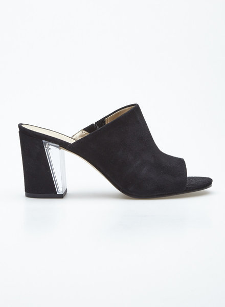 Nine West BLACK SUEDE MULES