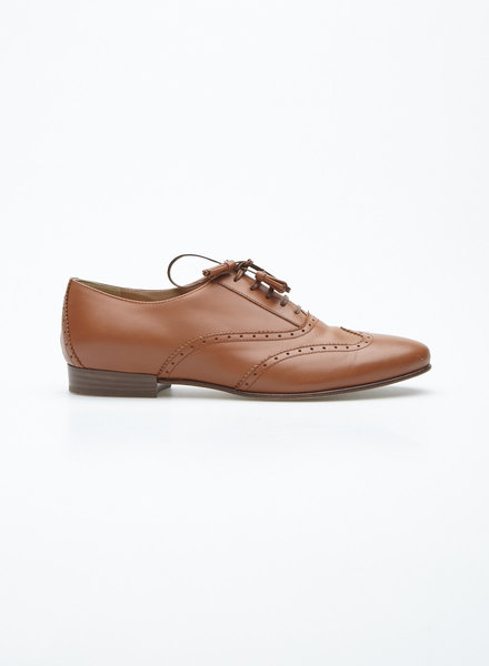 J.Crew TASSELED COGNAC OXFORD SHOES