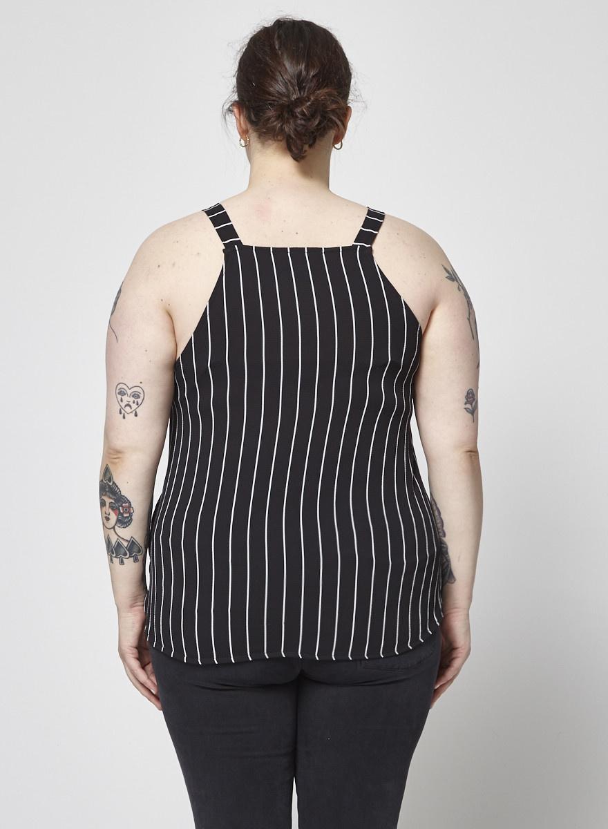 b924c0eacc2 Camisole lignée noire et blanc - Marigold - Deuxième édition