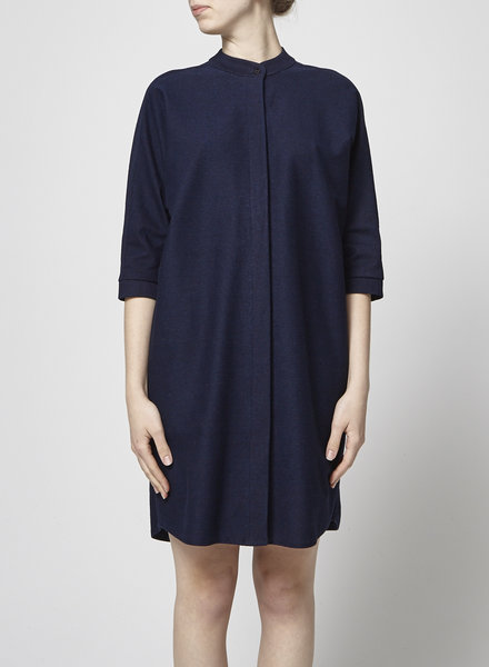 Francois Beauregard LOOSE BLUE DENIM DRESS
