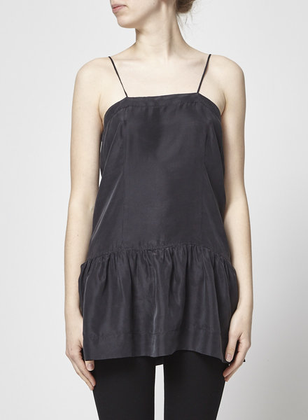 Isabel Marant Étoile BLACK SILK TOP