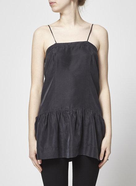 Isabel Marant Étoile BLACK SILK TOP