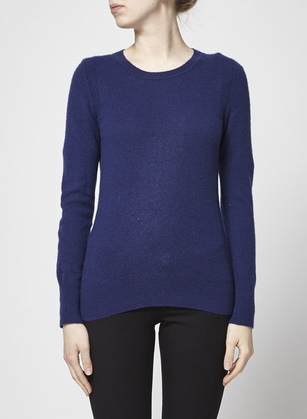 Banana Republic NAVY SCOTTISH CASHMERE SWEATER