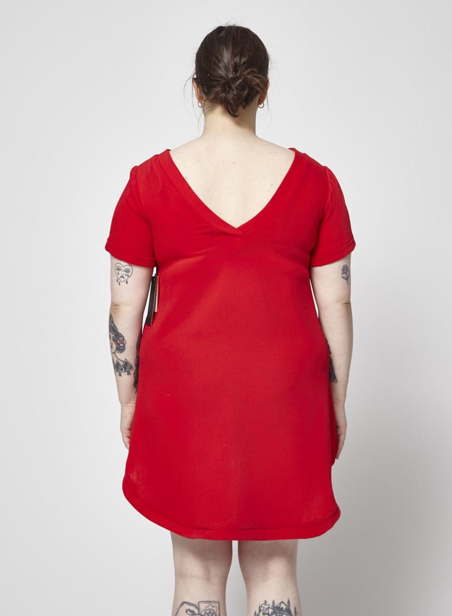 Marigold Robe t-shirt rouge Paula - Neuf