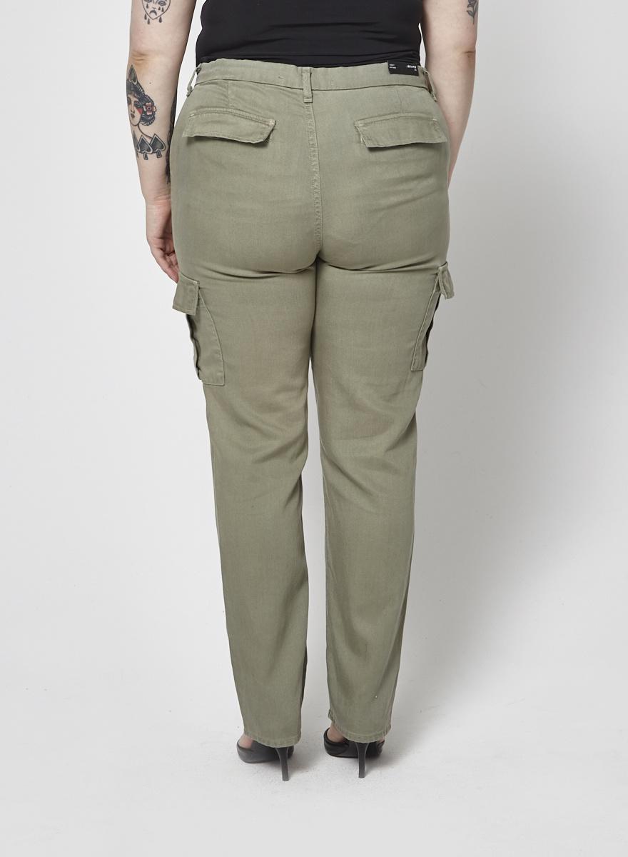 J Brand Khaki Cargo Pants