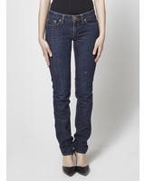 Marc by Marc Jacobs DARK BLUE STRAIGHT-LEG JEANS