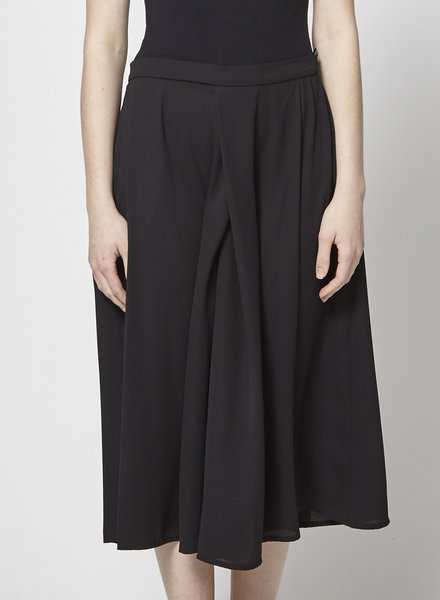 Marigold BLACK WIDE-LEG PANTS - WITH TAG