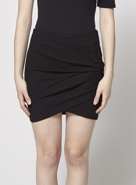 Robert Rodriguez SHORT WRAP BLACK SKIRT