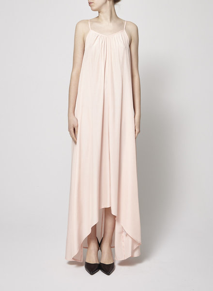Pink Stitch DUSTY-PINK MAXI DRESS