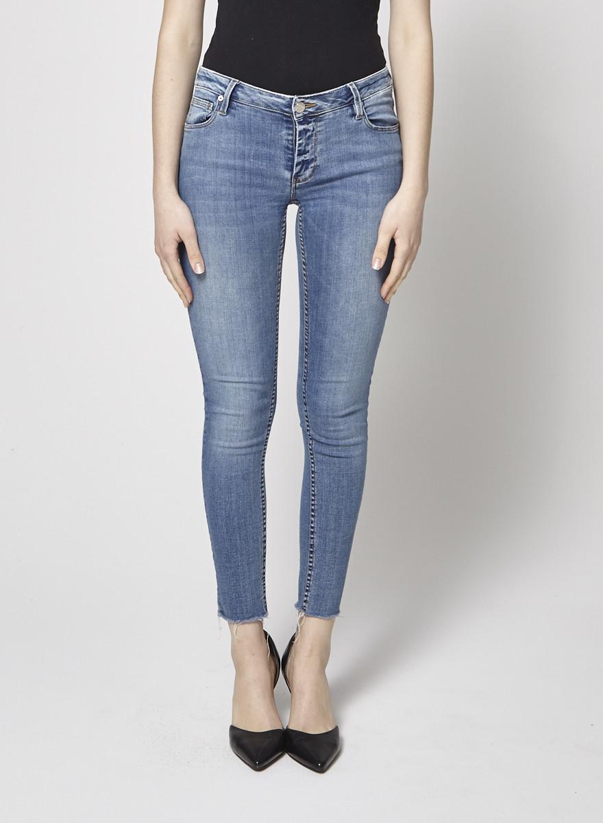 609c44b4ebcb04 Light Blue Skinny Jeans - Reiko - DEUXIEME EDITION