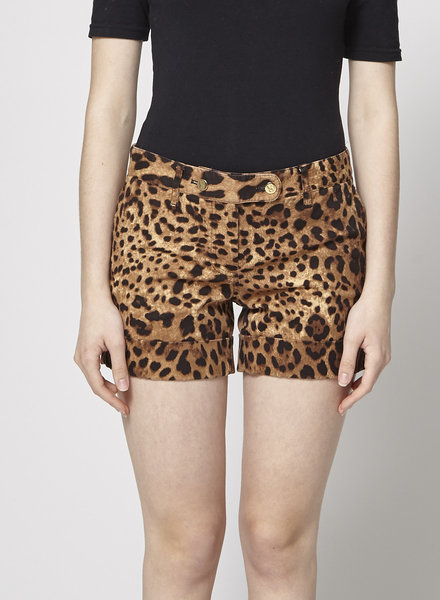 Dolce & Gabbana SHORT IMPRIMÉ ANIMAL
