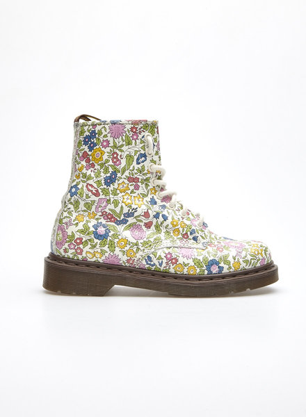 Liberty x Dr. Marten's FLORAL-PRINT LEATHER BOOTS