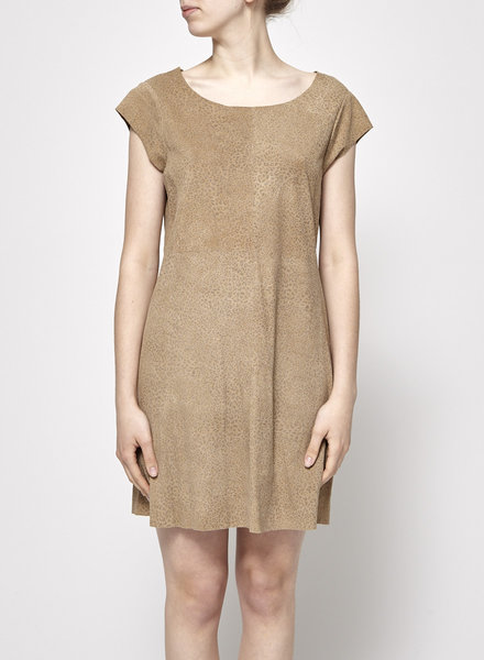 Joie NEW PRICE (WAS $98,50) - LEOPARD PRINT SUEDE DRESS