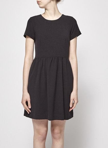 Betina Lou BLACK SHORT SLEEVE DRESS