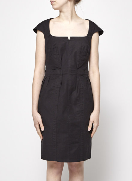 Beguile par Byron Lars STRUCTURED BLACK DRESS