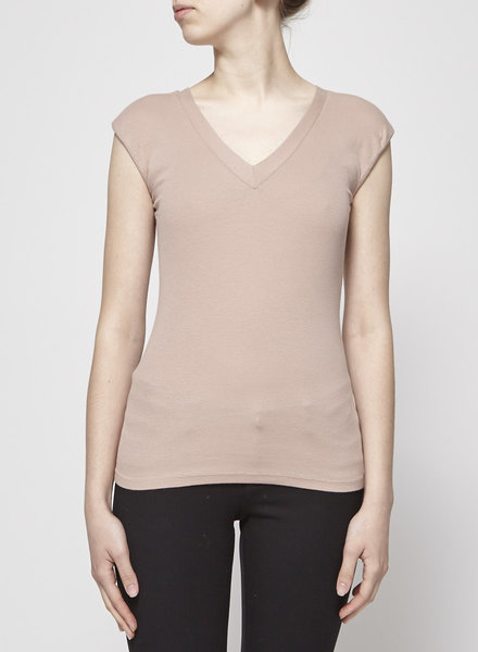Brunello Cucinelli SLEEVELESS DUSTY PINK TOP